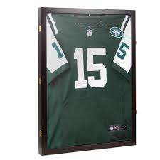 acrylic wooden jersey framed display case 31 x23 x2 baseball hockey collection