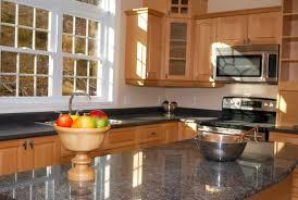 granite kitchen countertop black maple cabinets fort wayne mkd kitchens in