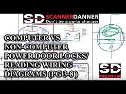 power door locks wiring diagram computer vs non computer power door locks reading wiring diagrams pg 3