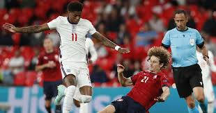 England men's soccer team was in the finals. Rashford Points To England Man With Big Role To Play Vs Germany