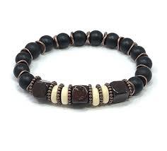 Jewelry Design Concepts Mens Beaded Bracelet Mens Stretch Bracelet Mens Jewelry Black Onyx Bracelet