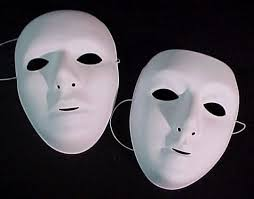 Plain White Masks To Decorate MASKS Basic 58