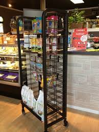 new countertop candy display with angled shelves 20 in w x 12 in d