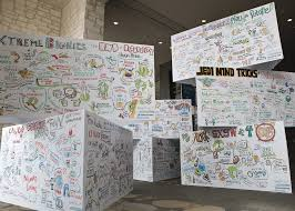 Visual Recording In Art And Design What Is Graphic Recording Imagethink