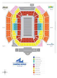 Citrus Bowl Seating Chart Stadium Vrbo Citrus Bowl Official Site