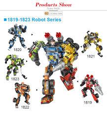 Лоз мини блоки техника машина деформация робот игрушки ...