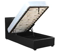 faux leather ottoman. Seconique Prado Faux Leather Storage Ottoman Bed Frame
