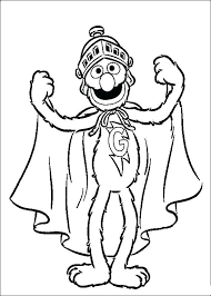 Sesame Street Printable Coloring Sheets Sesame Street Coloring Pages
