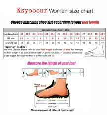 Us Women S Shoe Size Chart Inches Us 17 0 Brand Ksyoocur 2019 Spring New Ladies Flat Shoes Casual Women Shoes Comfortable Pointed Toe Flat Shoe 18 029 In Womens Flats From Shoes On