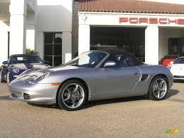 2004 GT Silver Metallic Porsche Boxster S 550 Spyder #16321031 ...