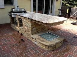 awesome cinder block outdoor kitchen with plans inspirations pictures