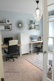 Plenty of our homes have an additional bedroom that we like to describe as an office/guest room combo. in reality, what many of us have is a glorified storage room. A Family Office And Guest Room In One My Mommy Style