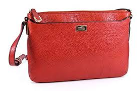 Coach Madison Leather Swingpack Crossbody Bag Purse 49992 Vermillion Orange