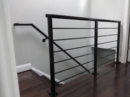 Modern Handrail horizontal rail modern steel handrails by glbc gl barnhart 6875 by xevi.us