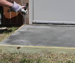 concrete pad 3 form removal jpg