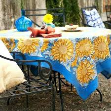 round umbrella tablecloth elegant patio with hole or medium image for square outdoor tableclo