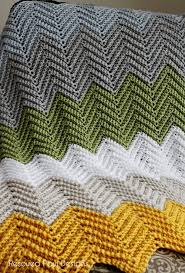 Chevron Crochet Blanket Pattern Cool Free Pattern Crochet Chevron Blanket Easy Fast Pattern