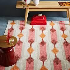 view in gallery kilim rug in warm tones