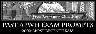 apwh exam review but you can still get an idea of possible essay topics by reviewing past exam essay prompts even though there are now only two long essys dbq