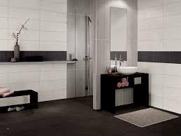 Schwarz Weisses Badezimmer Drewkasunic Designs