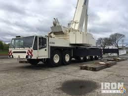 Demag 600 Ton Crane Load Chart Sold 1997 Demag Ac 665 All Terrain Crane Crane For In