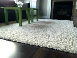 rug white fur area black furry faux grey brilliant rugs c