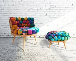 cool funky furniture.  Funky Next Life Nepalese Trashed Silk Into Funky Furniture SourceYour  Desks Cool 5 On For