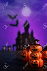 Halloween Pumpkins Jack-o-lantern On ...