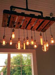 lighting fixtures we will show you beautifully made rustic lighting fixtures out of a wooden pallet
