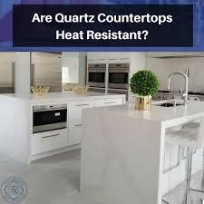 are quartz countertops heat resistant