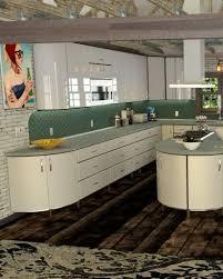 Retro Vintage Modern Metal Kitchen Cabinet Design Gallery Toro