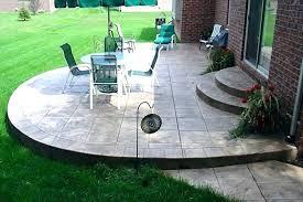 concrete slab patio. Patio Slab Ideas Backyard Concrete Design Cement Floor Concre