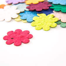 Buy Paper Flower Plantable Seed Paper Flowers Qty 100