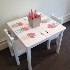girls desk furniture. desk and chair set tulip table children in girls u2013 best home office furniture o