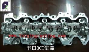 3CT Engine Cylinder Head For TOYOTA, OEM Number 2CT - ZHENGZHOU ...