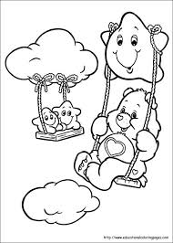 Small Picture Best Care Bears Coloring Pages Images Coloring Page Design