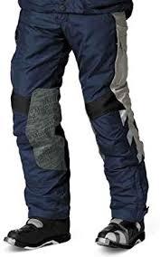 Bmw Genuine Motorcycle Motorrad Rallye Pants Mens Color Blue Grey Size Eu 46 Us 36