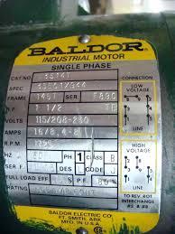 baldor motor wiring diagram also baldor motor wiring diagrams single phase