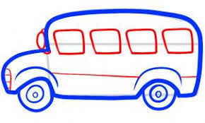 bus drawing for kids. Unique Kids All You Have To Do Now Is Draw In The Front Headlights Side Mirror And  Four School Bus Passenger Windows Donu0027t Forget Add Molding Detailing Along  For Bus Drawing Kids W