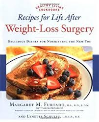 recipes for life after weight loss surgery healthy living cookbooks by furtado