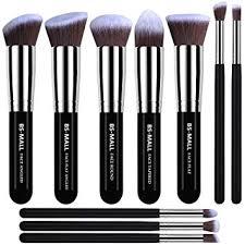bs mall tm makeup brushes premium makeup brush set synthetic kabuki makeup brush