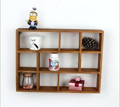 wall shelf rack hollow wooden wall shelf storage holders and racks desktop shelves wall mounted type