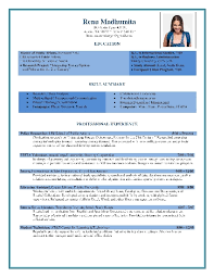 Resume Formats In Word Best Resume Format Samples Download Free Professional Resume Format