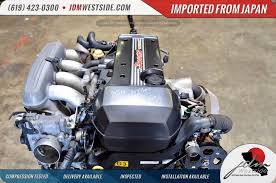 TOYOTA ALTEZZA BEAMS ENGINE 3SGE 2.0L 6 SPEED TRANSMISSION NON ...