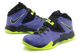 lebron purple shoes. lebron nike zoom soldier vii(7) joker court purple flash lime for sale- shoes