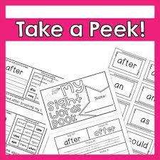 1st Grade Flash Cards 1st Grade Dolch Sight Words 41 Words Practice Activities Flash