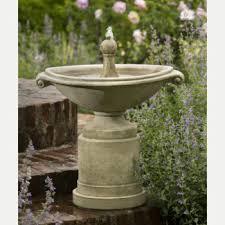 borghese basin outdoor water fountain