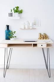 2 diy hairpin leg desk