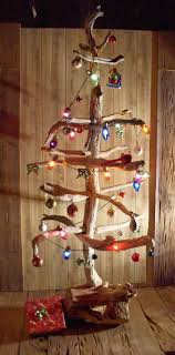 Driftwood Christmas trees are custom made to your specifications in design,