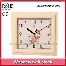 square shape wall clock manufacturer